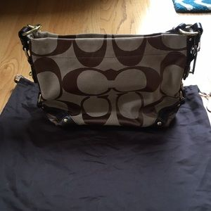 NWOT Coach Signature Collection Hobo Bag
